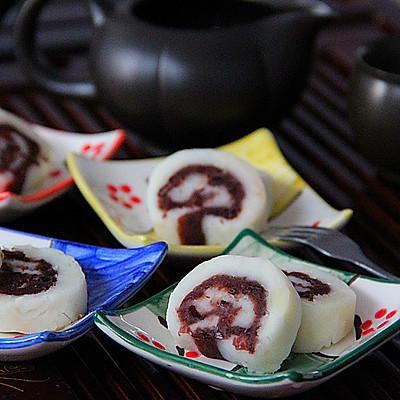 中式茶点——山药豆沙卷