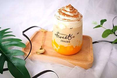 芒果冰咖啡 #夏日冰品不能少#