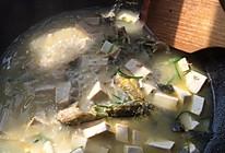 昂刺鱼炖豆腐的做法