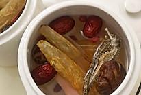 海马鱼胶炖汤的做法