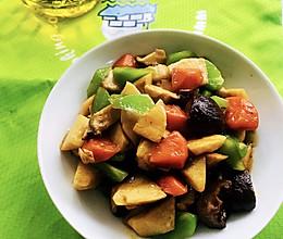 #橄榄中国味 感恩添美味#炒素菜的做法