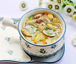 #晒出你的团圆大餐#冬瓜花蛤汤的做法