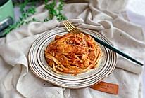 #钟于经典传统味#海鲜肉酱意大利面的做法