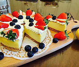 草莓芝士蛋糕 超细腻的做法