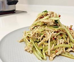 凉拌黄瓜鸡胸,妥妥的轻脂菜的做法