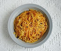 炝炒土豆丝的做法