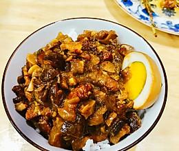 台湾卤肉饭VS卤肉拌面的做法