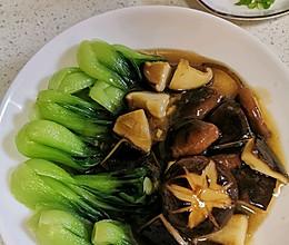 养眼养胃~香菇油菜(有小秘诀)