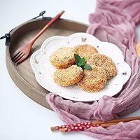 豆沙馅南瓜饼#馅儿料美食,哪种最好吃#的做法图解16