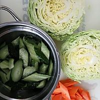 酸甜泡菜的做法图解2