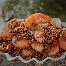 龙井茶香面包虾