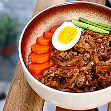 #肉食主义狂欢#日式肥牛饭 ,肉香爆棚,超幸福!