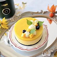 芒果酸奶芝士蛋糕#中秋团圆食味#