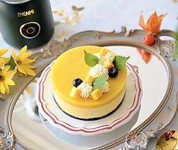 芒果酸奶芝士蛋糕