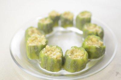 快手菜——蒜蓉蒸丝瓜