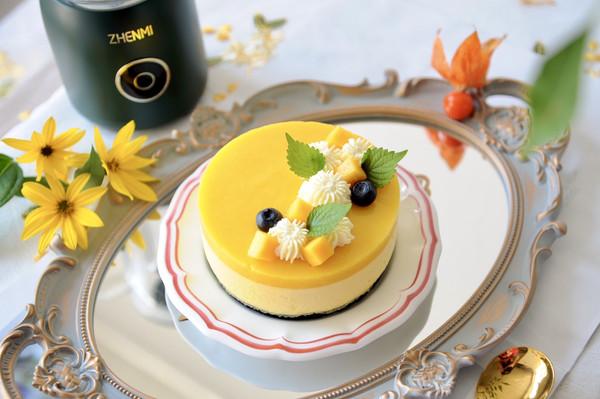 芒果酸奶芝士蛋糕的做法