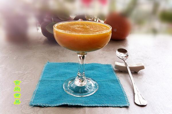 滋润热饮——果酱南瓜糊的做法