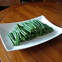 夏日凉菜--姜汁蒜泥豇豆的做法图解5