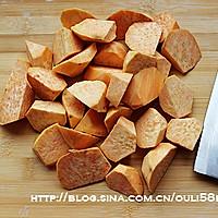 拔丝红薯的做法图解2