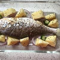 罗勒烤黄鱼的做法图解11