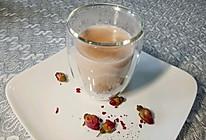 玫瑰普洱奶茶的做法
