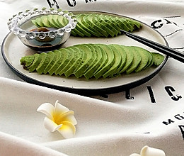 牛油果刺身avocado sashimi的做法