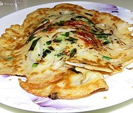 豆芽米粉煎饼的做法