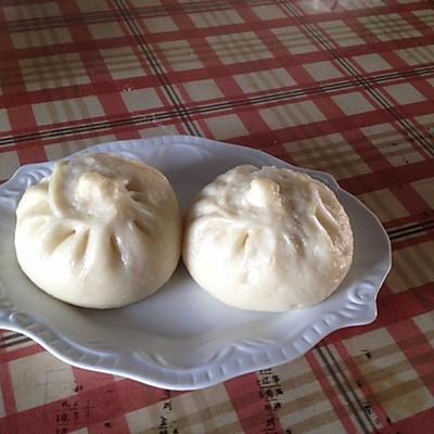 白菜肉包子(附发面的详细做法)