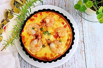 #硬核菜谱制作人#田园海鲜披萨