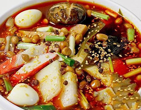 重庆区品茶和麻辣汤绝配的做法