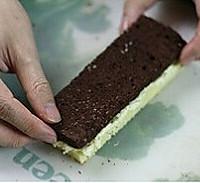 双色棋格奶油蛋糕的做法图解15