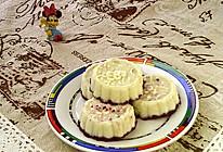 #晒出你的团圆大餐#蜂蜜紫薯山药糕的做法