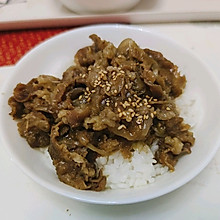 日式肥牛饭~牛丼~完胜吉野家 一个人也要好好吃饭