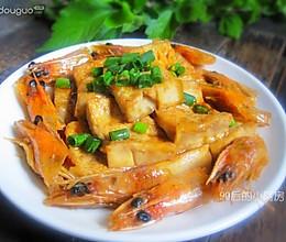 虾头豆腐的做法
