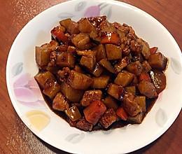 红烧土豆里脊肉的做法