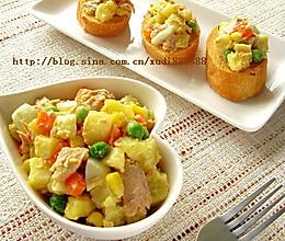 金枪鱼土豆沙拉的做法