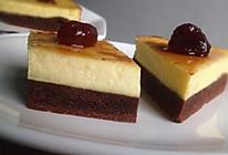 布朗尼芝士蛋糕#优阳烘焙的做法