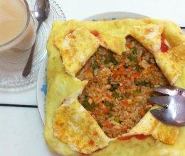 蛋包饭·蛋炒饭的做法