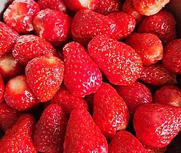 #牛气冲天#简单三步自制草莓酱,甜蜜果酱的做法
