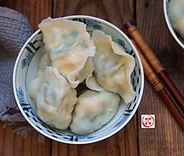韭菜虾仁鸡蛋水饺的做法
