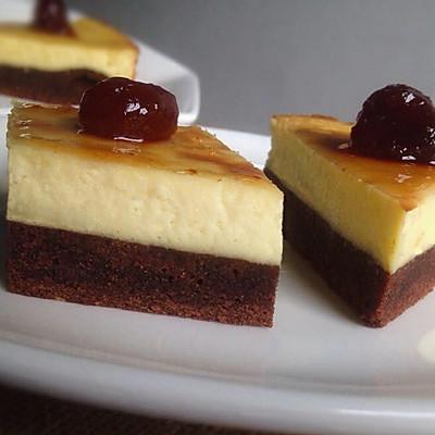 布朗尼芝士蛋糕#优阳烘焙