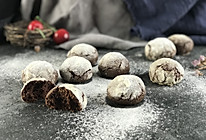 可可岩石裂纹饼干的做法