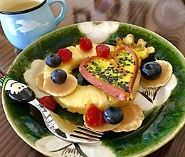 情人节爱心早餐(二)的做法