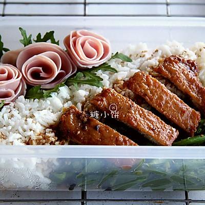母亲节便当【红烧猪排饭】