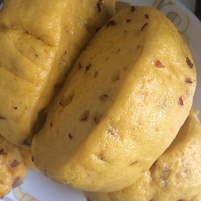 南瓜红枣馒头