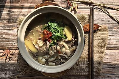 懒人版冬季暖暖的羊杂汤
