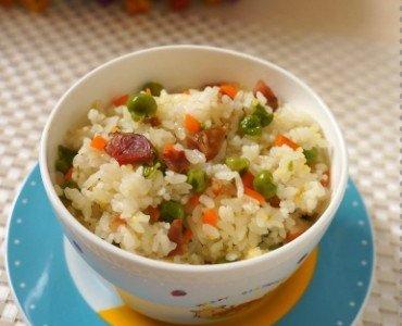 应季的懒人版豌豆饭的做法