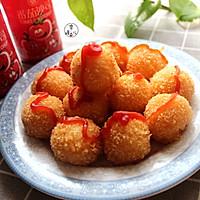 番茄土豆奶酪球的做法图解13