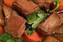 香喷喷红烧萝卜羊肉煲的做法