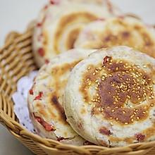 五香红肠发面饼:早餐也可以做晚餐